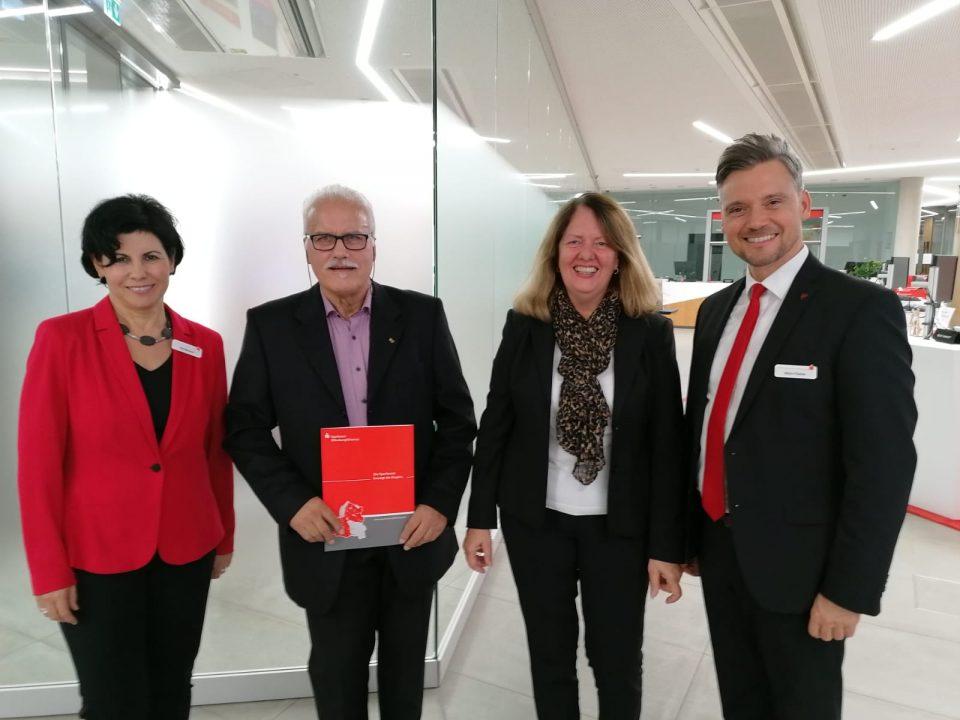 Spendenübergabe der Sparkasse Offenburg an den Verein
